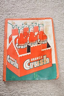Vintage Orange Crush Book of Full Page Newspaper Advertisements Supermarkets