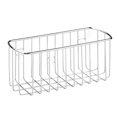 SUCTION BATHROOM SHOWER Caddy Corner Basket for Shampoo, Conditioner ...