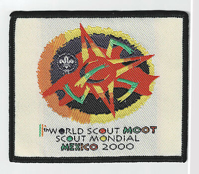 2000 World Scout Moot (World Rover Scouts Jamboree) MEXICO Contingent Patch