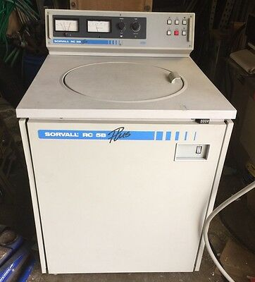 SORVALL RC-5B+ PLUS REFRIGERATED HIGH SPEED CENTRIFUGE DuPont Medical Equipment