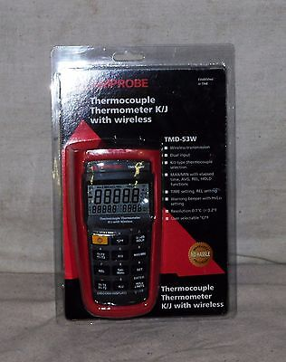 Amprobe TMD-53W Thermocouple Thermometer K/ J-type