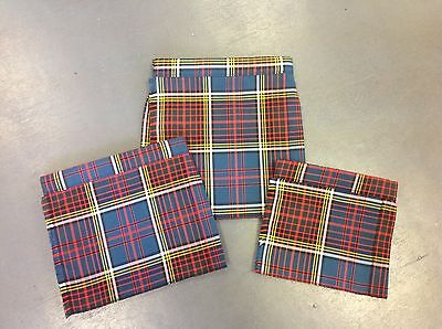 NEW baby Anderson tartan kilt age 0-6 6-12 12-24 months boy or girl childrens