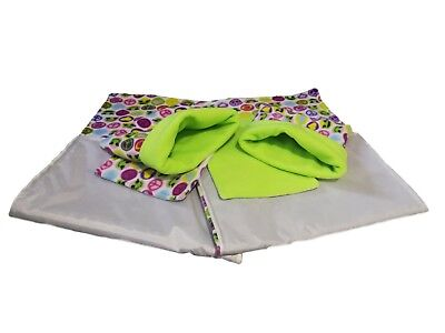 WATERPROOF Guinea Pig and small animal two fleece liners 100x54 SET 1