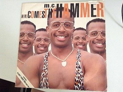 Mc Hammer Here Comes The Hammer Vinyl 12 Inch