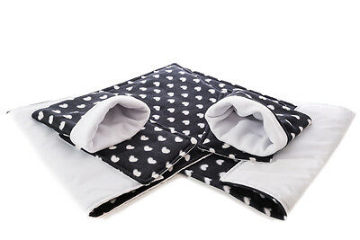 WATERPROOF Guinea Pig and small animal two fleece liners 80x44 SET 1