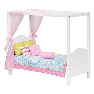 Our Generation® Bed - White Canopy