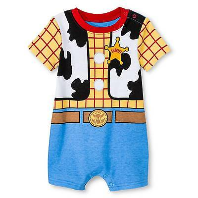 Baby Boys' Toy Story Woody Bodysuit White - Disney®