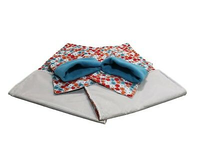 WATERPROOF Guinea Pig liner and small animal cage liner 80x44 set 3
