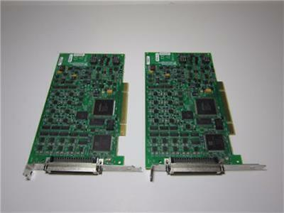 Lot of 2 NATIONAL INSTRUMENTS NI PCI-6704 STATIC ANALOG OUTPUT BOARD