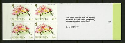 Guernsey 1997  Scott # 585b  Mint Never Hinged Complete Booklet