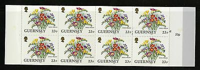 Guernsey 1992-96  Scott # 488c  Mint Never Hinged Complete Booklet