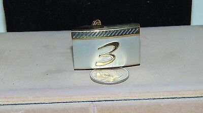 Vintage Gold And Silver Tone Pioneer Belt Buckle
