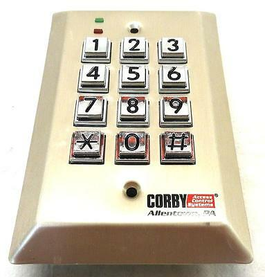 NEW Corby 4066 Access Control Systems 4000 Series Outdoor Keypad CY-4066