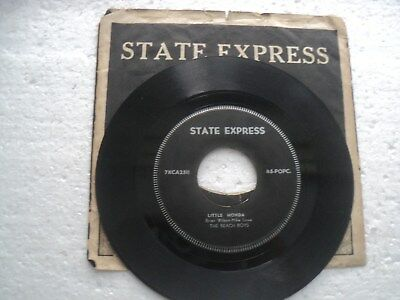 The Beach Boys -Fun Fun Fun/ little Honda- Super RARE S.E A STATE EXPRESS 45 RPM