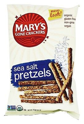 Mary's Gone Crackers - Organic Pretzels Sea Salt - 7.5 oz.