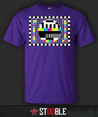 Test Pattern 1 T-Shirt - Direct from Stockist
