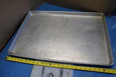"""Lot Of 5 Full Size 18"""" X 26"""" Sheet Pans Baking Cookie Sheets Trays Don D2581"""
