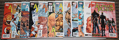Marvel Alpha Flight (2004) # 1-12 COMPLETE SET - Lobdell & Henry