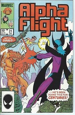 Alpha Flight #21 (1985) - Vol. 1 - Marvel Comics