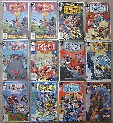 Forgotten Realms #1-14 + Annual Tsr Dc Comics (12) Comic Lot Vf To Nm Unread