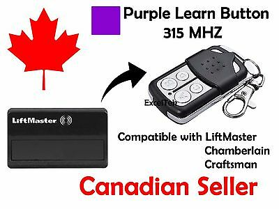 Garage Remote Control Liftmaster 370LM 371LM 372LM 373LM 374LM 315Mhz