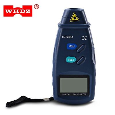 WHDZ DT2234A Digital Tachometer Non-contact Laser Measure Meter Tachometer