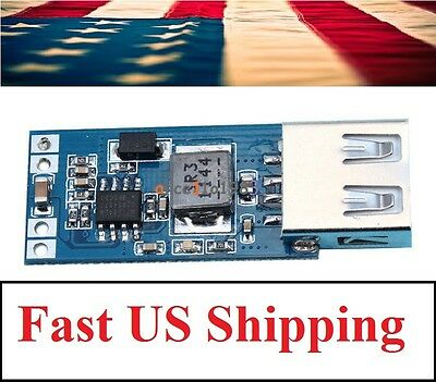 9V/12V/24V to 5V 2A DC-DC USB Charger Step Down Buck Converter Module - USA