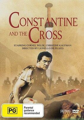 Constantine And The Cross Dvd New And Sealed