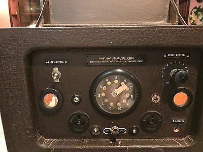 Quack Medical Device Short Wave Oscillotron #3153  Abrams Antique