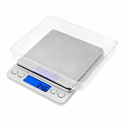 Digital Kitchen Weight Scale 3KG / 0.1g LCD Electronic Diet Food Device Balance