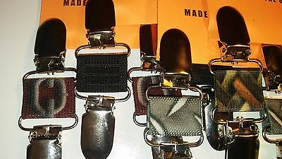 Printed Patterns, Clips4Bikers...motorcycle Rider Boot Lace Stirrups Pant Clamps