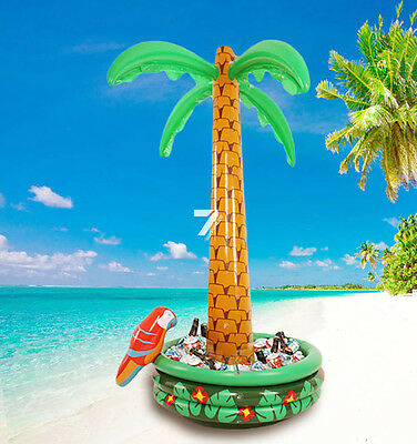 NEW 6ft Inflatable Blow Up Palm Tree Hawaiian Pool Beach Party Lovely Decor