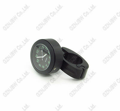 Wateproof Motorcycle Bar Mount Clock for Honda Suzuki Yamaha Kawasaki Harley
