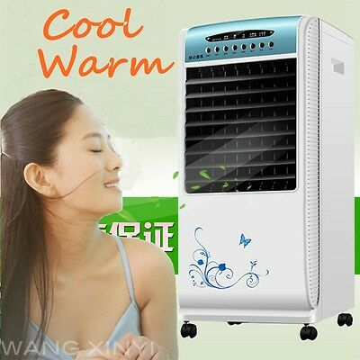 220V Portable Evaporative Air Cooler/ Humidifier Fan with Heater