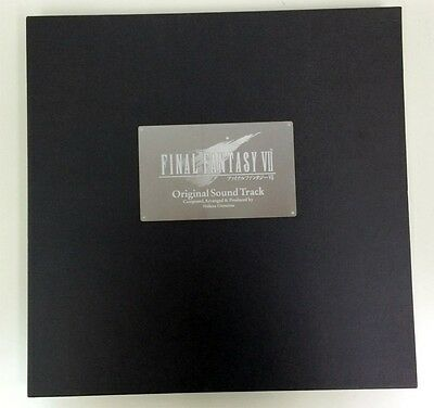 Used Final Fantasy VII Original Sound Track CD jp Music Japanese Anime Manga
