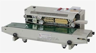 Automatic Continuous Plastic Bag Band Sealing Machine W/ Date Code Sealer 220V X