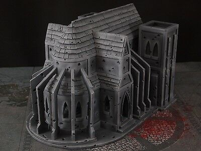 Scifi Gothic Cathedral Terrain