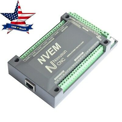 4 Axis 200KHZ NVEM Ethernet MACH3 Motion Control CNC Stepper Motor Driver in USA