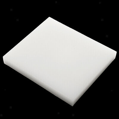 Polypropylene Leather Cutting Board Leather Craft Stamping Board White