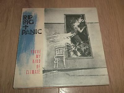 "Rip Rig + Panic "" You're My Kind Of Climate  "" 12"" Vinyl Ex/ex 1982 Jazz Funk"