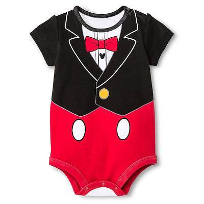 Baby Boys' Mickey Mouse Bodysuit Red - Disney®