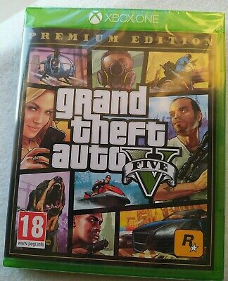 Grand Theft Auto V (Microsoft Xbox One) Brand New Sealed, PAL-Free Delivery