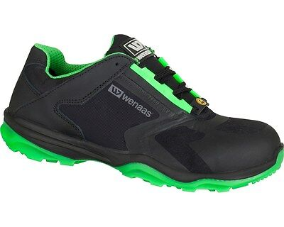 Mens Work Safety Shoes S1P SRC sports SUPER LIGHT Black NEW