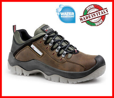 Mens Waterproof Safety Shoes SECOR X-ponent S3 SRC LEATHER anti-perforation inso
