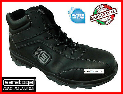 mens WORK SHOES SARATOGA S3 SRC SUPERLIGHT BLACK HIGH New trainer Size SPORT