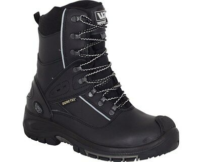 MENS SAFETY BOOTS GORE-TEX Wenaas RAINMASTER S3 ESD WATERPROOF