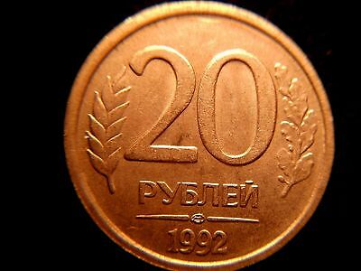 1992 Russia 20 Roubles