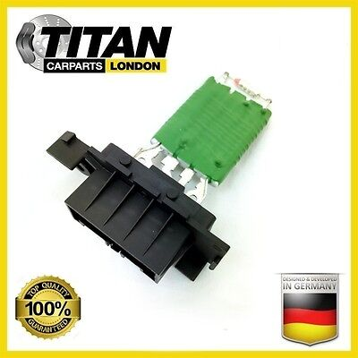 For Vauxhall Corsa D Heat Blower Motor Fan Resistor 13248240 Brand New