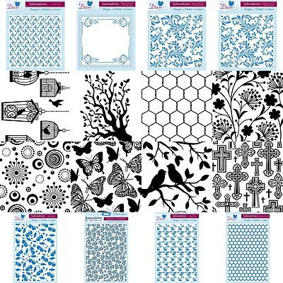 CLEARANCE! Embossing Folders - Paper Craft Scrapbooking Accessory Tools