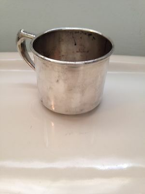 Vintage Sterling Silver Cup By W Bell & Co